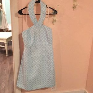 Michael Kors beautiful blue dress NWOT